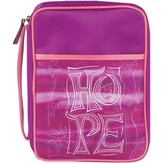 Hope Bible Cover, Purple, Large