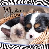 2014 Wall Calendar, Whickers and Paws