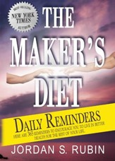 The Maker's Diet Daily Reminders - eBook