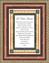 El Padre Nuestra, Our Father Framed Print