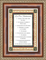 Los Diez Mansamientos, Ten Commandments Framed Print