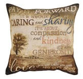 Pay It Forward Pillow