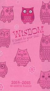 2014-2015 Pocket Calendar, Wise Owl