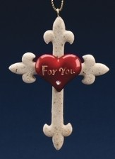 For You Cross Ornament