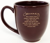 Journey, For I Know the Plans Mug
