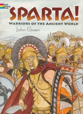 Sparta!: Warriors of the Ancient World Coloring Book