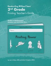 Printing Power Grade 2 Teacher's Guide