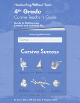 Cursive Success Grade 4 Teacher's Guide