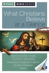 Rose Bible Basics: What Christians Believe at a Glance - eBook
