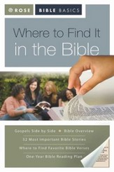 Rose Bible Basics: Where to Find it in the Bible - eBook