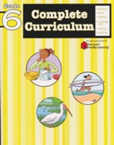 FlashKids Complete Curriculum Workbook: Grade 6