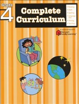 FlashKids Complete Curriculum Workbook: Grade 4