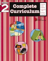 FlashKids Complete Curriculum Workbook: Grade 2