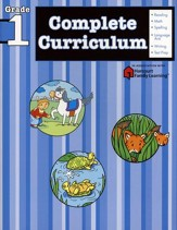 FlashKids Complete Curriculum Workbook: Grade 1