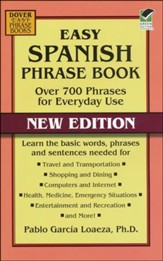 Easy Spanish Phrase Book: Over 700 Phrases for Everyday Use, New Edition