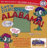 Let's Discover Alabama CD-ROM, Grades 2-8