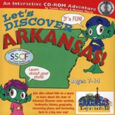 Let's Discover Arkansas! CD-ROM, Grades 2-8
