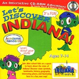 Let's Discover Indiana CD-ROM, Grades 2-8