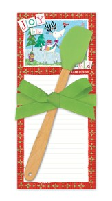 Season of Joy Notepad and Mini Spatula Set