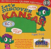 Let's Discover Kansas CD-ROM, Grades 2-8