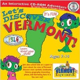 Let's Discover Vermont CD-ROM, Grades 2-8