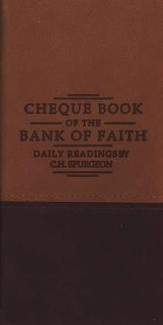 Chequebook of the Bank of Faith - Tan/Burgundy