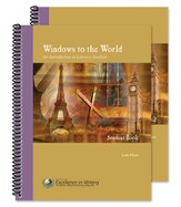 Windows to the World - An Introduction to Literary Analysis (teacher/student combo set)