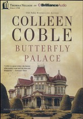 Butterfly Palace - unabridged audiobook on MP3 CD