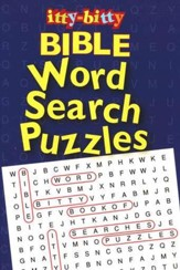 Itty-Bitty Word Search Puzzles