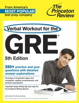 Verbal Workout for the GRE, 5th Edition - eBook