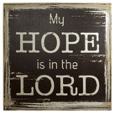 Hope In the Lord Wall Art
