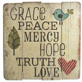 Grace, Peace, Mercy Wall Art