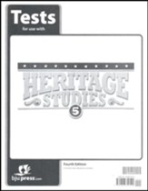 BJU Heritage Studies Grade 5 Tests Packet (Fourth Edition)
