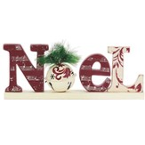 Noel, Tabletop Plaque, with Bell