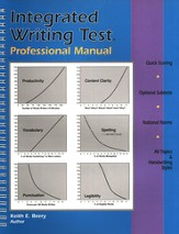 Integrated Writing Test Professional Manual