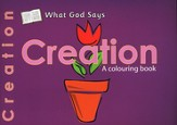 What God Says: Creation, A Coloring Book
