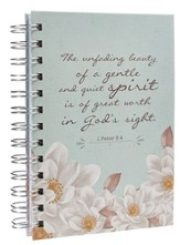 Unfading Beauty, Small Spiral Bound Journal