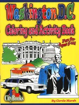 Washington D.C. Coloring and Activity Book