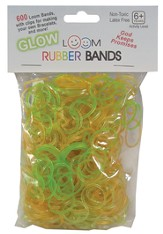 Glow Loom Bands, 600 Pieces