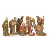 Nativity Set, 8 pieces, 4 Inches