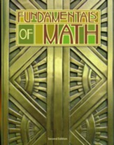 BJU Fundamentals of Math Grade 7 Student Text, Second  Edition (Updated Copyright)