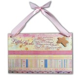 New Baby Girl Plaque