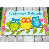 Owls Welcome Mat