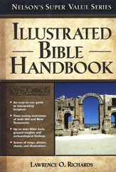 Illustrated Bible Handbook - Slightly Imperfect