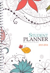 Well-Planned Day Student Planner (Floral Style July 2013 - June 2014)