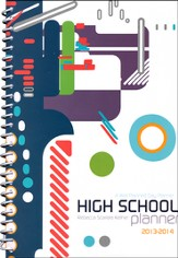 A Well-Planned Day High School 1 Year Planner (July  2013 - June 2014)