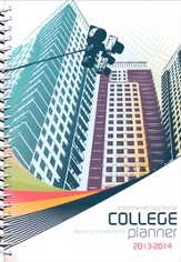 A Well-Planned Day College Planner (July 2013 - June 2014)