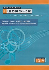 iWorship Digital Sheet Music Library O-V