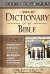 Illustrated Dictionary of the Bible - Slightly Imperfect