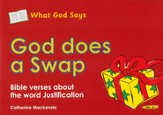 What God Says: God Does a Swap (Justification), Coloring Book